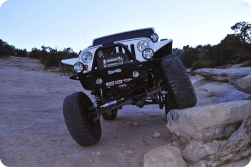 Rock Crawling in Jeep