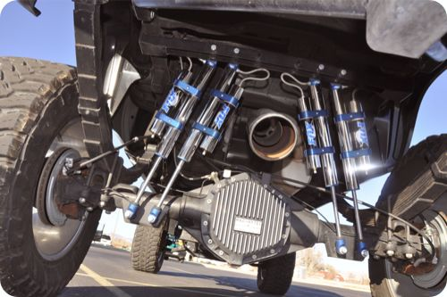 Custom Suspension Lift Kit