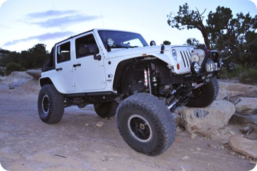 Lifted Jeep Wrangler